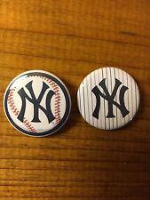 New York Yankees Button Pin Set