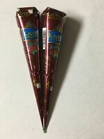 2 X Kaveri Natural Herbal Brown Henna Cones Temporary Tattoo Body Art Paint Ink