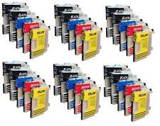 30 Cartouches D'Encre Compatible avec Brother DCP195C DCP145C MFC250C DCP165C