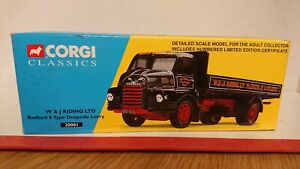 Corgi Classics 20001 Bedford S Type Dropside Lorry W&J Riding Ltd Edition