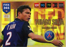 Thiago Silva LIMITED EDITION Panini Adrenalyn XL FIFA 365 2017 set 10 cards