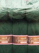 STYLECRAFT SPECIAL DK 500 GRAM PACK 5 BALLS BEAUTIFUL COLOURS BOTTLE GREEN