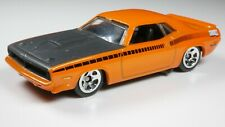 1970 Plymouth AAR Cuda 1/64 Scale Diecast Diorama Rare Car Orange