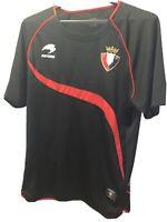 Beautiful Osasuna Soccer Jersey Spain Football Shirt Astore Top Men's Size S
