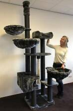 RHRQuality Kratzbaum Größe katze XXL Catdream Extreme Blackline Dunkel Grau