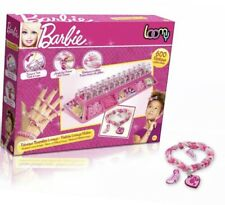 Barbie Loomy 639 pc Set Rubber Bands Make Fashion Bracelets w/Charms