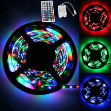 5M 12V 2835 RGB LED Strip Light Multi Color Backlight Mood Light Remote Control