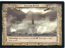 Lord Of The Rings CCG Card RotK 7.U331 Isengard Ruined