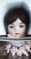 NEW 34 in ANTIQUE REPRODUCTION BRU JNE 15 PORCELAIN DOLL PATRICIA LOVELESS NRFB