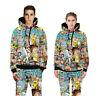 3D Print Rick and Morty Cartoon Hoodie Sweatshirt Pullover Jumper Unisex Pants