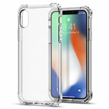 b6c65132ee for Apple iPhone X Shockproof Slim Clear Soft TPU Rubber Silicone Case Cover