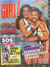 Bravo GIRL n°12 (août 1992) Roman photos Trop charmant pour être honnête-Sieste