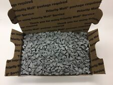 "CERAMIC TUMBLING MEDIA 3 pounds of 1/4"" x 3/8"" Angle Cut Triangles (M)"