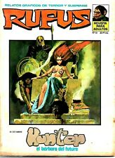 RARE SPANISH WARREN MAGAZINE RUFUS #13 (EERIE) VG CONDITION