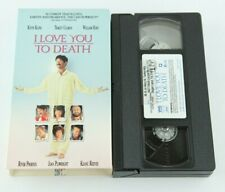 I Love You To Death Vintage 90s VHS River Phoenix Keanu Reeves 1990 Original