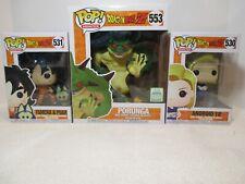 Funko Pop! Dragon Ball Z Bundle - ECCC Porunga, Yamcha & Puar, Android 18