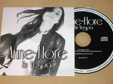 RARE CD PROMO 1 TITRE / ANNE FLORE / EN VESPA / TRES BON ETAT