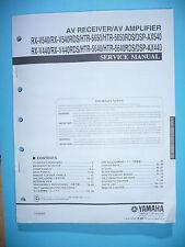 Service Manual für Yamaha RX-V540/RX-V440/HTR-5650/HTR-5640/DSP-AX540/DSP-AX440