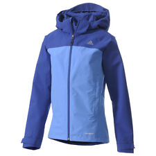 Adidas Women's Hiking OUTDOOR WALDLIGHT JACKET COAT SMALL S SM BLUE G89591 $130