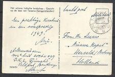 Netherland Indies covers 1948 FieldpostPPC TJIMAHI