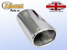 Accoustic Exhaust Tail Pipe Stainless Steel Sports Trim