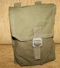 OLD Polish Bag for 2 grenade bag on belt 1943-1958 WARSAW PACT Poland Army POUCH