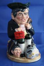 BAIRSTOW MANOR LARGE GORDON BROWN 'STAND AND DELIVER' LTD. ED. TOBY JUG - NEW