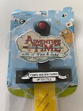 """2011 Jazwares Cartoon Network Adventure Time 24"""" Finn's Golden Sword of Battle"""