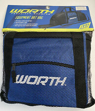 Worth Equipment Bat Bag Baseball Softball Blue Black
