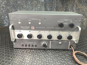 Leeds & Northrup Model 7556 Guarded Potentiometer