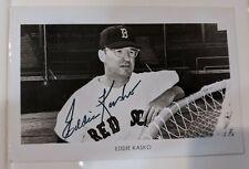 Eddie Kasko Autographed Boston Red Sox Postcard