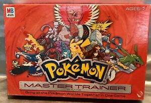 Pokemon Master Trainer Board Game ~ 2005 Edition - 96% Complete - Good Condition