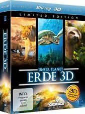 Unser Planet Erde 3D - Limited Edition (Blu-ray 3D) Blu-ray 10 Disc 50 GB NEU