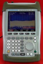 Rohde Amp Schwarz Fsh3 Mobile Spectrum Analyzer 1145585003