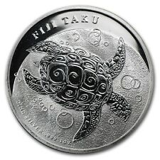 New Zealand Mint $2 Fiji Taku 2012 1 oz .999 Silver Coin