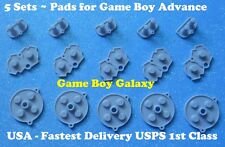 5 Sets GBA Conductive RUBBER PADS Nintendo Game Boy Advance Start Select Button