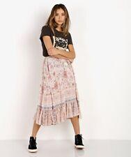 Spell And The Gypsy Zahara Midi Skirt Rosewater XL