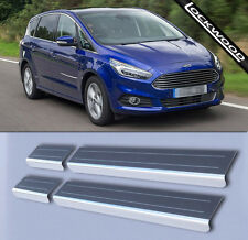 Ford S-Max Mk2 (Released approx. 2015) Stainless Sill Protectors / Kick Plates