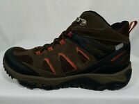 Merrell Outmost Ventilator Hiking Shoes Size 8.5-9 Mens Brown Suede Boots J09519