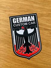 German CUSTOM CAR autocollant sticker Aigle youngtimer OEM Moteur sport racing mi208