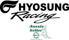 Hyosung Racing  vinyl  cut decal 250 x 85  mm  BUY 2 & Get 3