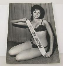 PAUL POPPER vintage Photo Foto Miss Sex-Appeal Beauty Queen 1964 Silbergelatine