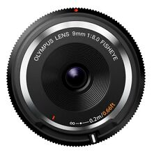 OLYMPUS mirrorless SLR 9mm f8 fisheye body cap lens black BCL-0980 BLK