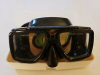 Sherwood Scuba Goggles Magnum 4 Tempered Glass Adult W Case