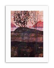 Egon Schiele Underground Sun Picture Old Master Canvas Art Print