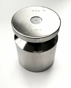 Rice Lake Weighing Systems 2kg 2M8Y ASTM Class 2 Calibration Weight With Case