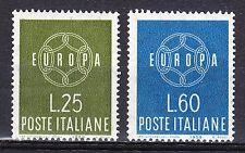 Italy 1959 MNH** Sc 791-792 Mi 1055-1056 Europa CEPT