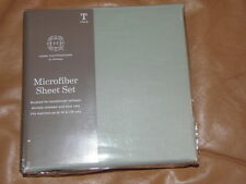 MICROFIBER SHEET SET - TWIN - MISTY JADE   ***RETAILS $30.00***   (BD-15x4)