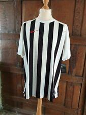 Nike Authentic Dry Dri Fit Football Shirt TEE Training Stripes 2XL New Bargain