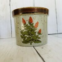 "Takahashi SF Small Ceramic Flower Pot Planter  With Sticker 2 5/8"""